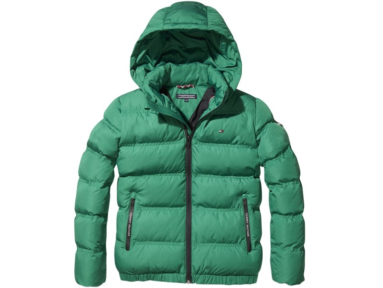 GREEN -ESSENTIAL PADDED JACKET