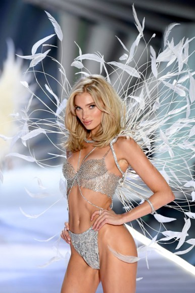 NEW YORK, NY - NOVEMBER 08:  Elsa Hosk walks the runway during the Fantasy Bra during 2018 Victoria's Secret Fashion Show at Pier 94 on November 8, 2018 in New York City.  (Photo by Dimitrios Kambouris/Getty Images for Victoria's Secret)