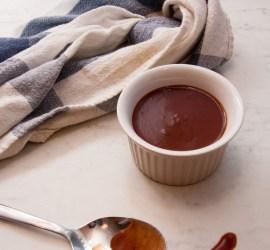 Rödvinssås på demi-glace
