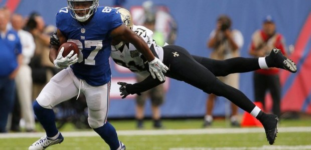 Sterling Shepard beats Saints