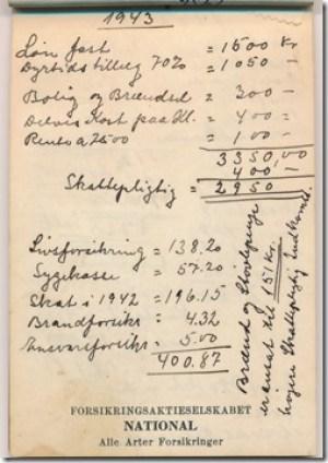Selvangivelse 1943