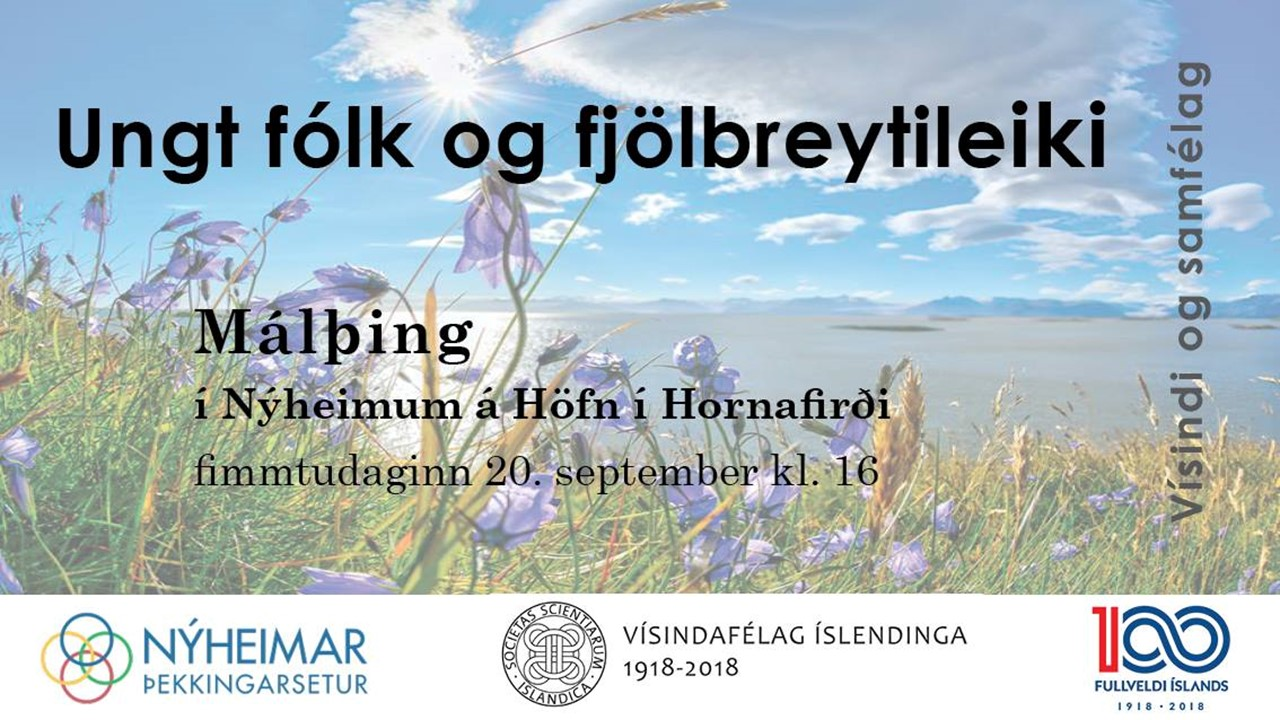 Ungtfólkogfjölbreytileiki–málþingíNýheimum