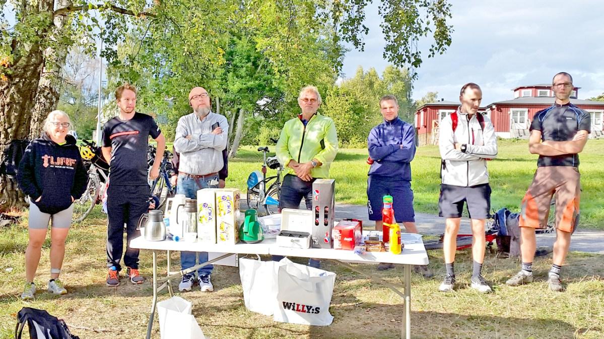 Stockholm Bike Open turingmachine tog hem segern I Baslägret 7