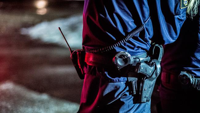 Genrebild. Polisen på bild har inget med händelsen att göra. Foto: Nyheter Idag