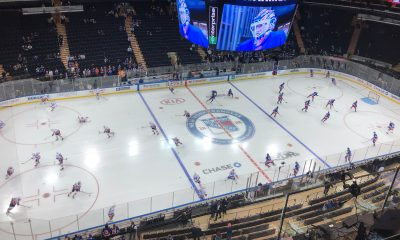 The New York Islanders will face the New York Rangers in an exhibition game