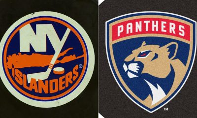 New York Islanders and Florida Panthers logos