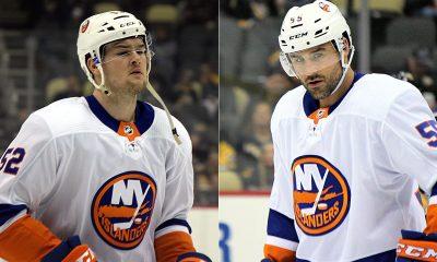 Ross Johnston and Johnny Boychuk