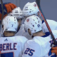 New York Islanders Celebrate a goal in Game 7