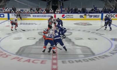New York Islanders square off with the Tampa Bay Lightning