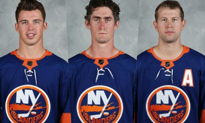 New York Islanders Second line, Anthony Beauvillier, Brock Nelson, Josh Bailey
