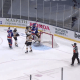 New York Islanders Celebrate 1-0 win over the Boston Bruins