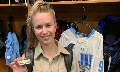 Long Island University women's hockey Ashley Morrow