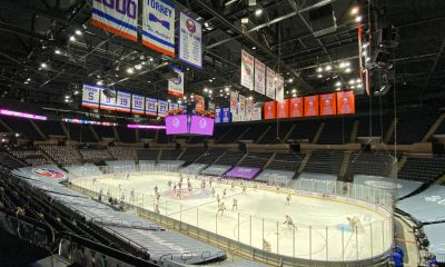 Nassau Coliseum home of the New York Islanders