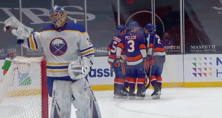 New York Islanders sweep Sabres