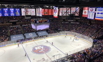 Nasssau Coliseum home of the New York Islanders