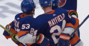 Islanders celebrate