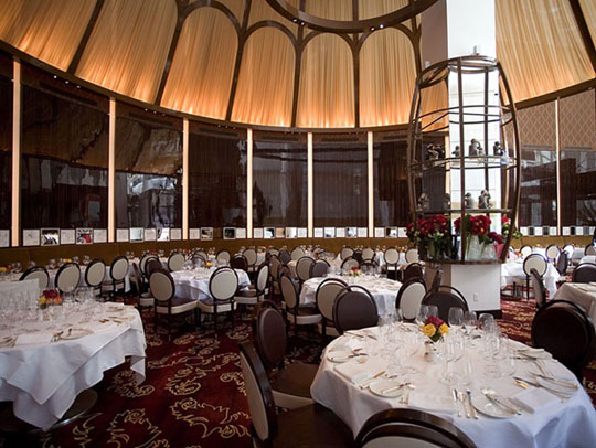 dining area where arroyo enjoyed her meal at le cirque
