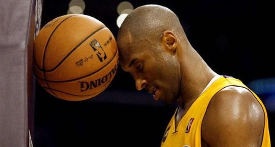 Kobe Bryant with ball