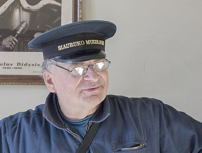 Muziejininkas Raimondas Guobis mano, kad antros pilietybės nereikia.