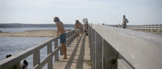 Cena original do filme Tubarão de 1974