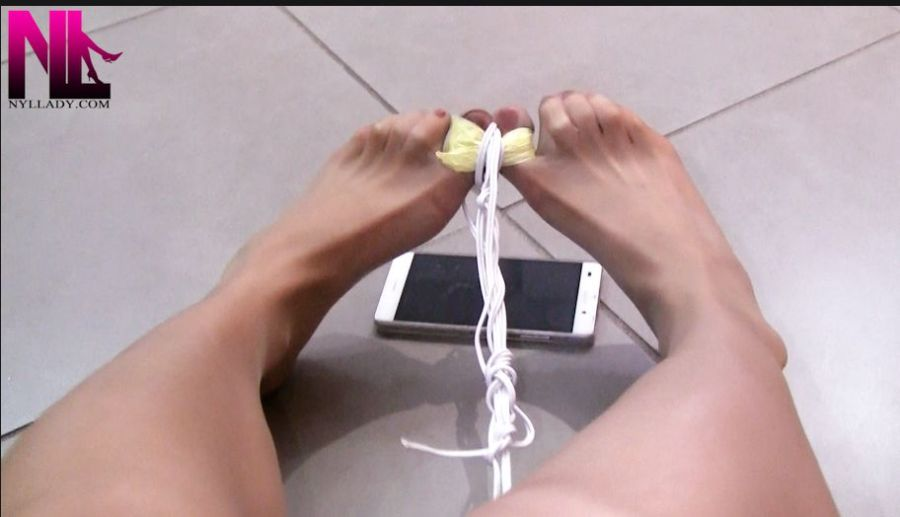 custom_bondage-of-the-hosed-red-nailpolish-toes-and-struggling-to-set-myself-free_toes