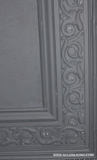 Paint the ceiling the same colour as the walls!
