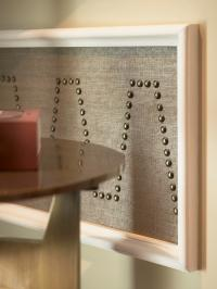 nail studded panelling