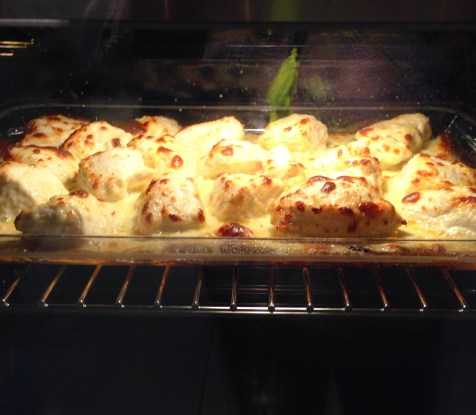 chicken baking