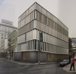 Rendering of proposed residential building at 55 Pearl St. Image Courtesy: Alloy Development.