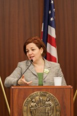 City Council Speaker Christine C. Quinn.