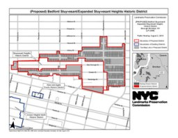 Bedford Stuyvesant/Expanded Stuyvesant Heights Historic District. Image Credit: LPC.