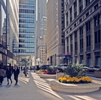 Public plaza at 140 Broadway, Manhattan in 1997. Image Credit: Alexander Garvin.