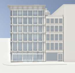 Rendering of proposed building at 529 Broadway in Manhattan. Image Credit: BKSK Architects.