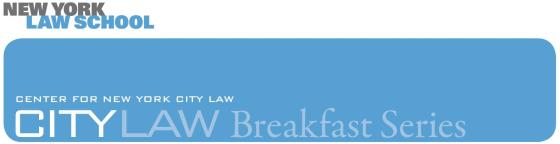 CityLaw Breakfast Header