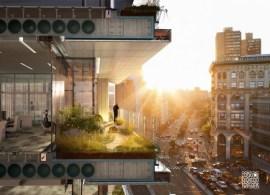 Rendering of 300 Lafayette Street Development. Image Credit: COOKFOX Architects.