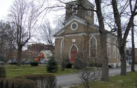 New Utrecht Reformed Church, Brooklyn. Image Credit: Friends of Historic New Utrecht.
