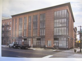 Proposed Rendering for 112 Atlantic Avenue, Brooklyn. Image Credit: BKSK Architects.