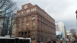 """Abraham Lincoln gave his famous """"Might makes right"""" speech at the Cooper Union Foundation Building.  Image credit:  CityLand"""