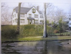 Artists' rendering of one of the proposed houses for 4680 Fieldston Road. Image credit: CityLand