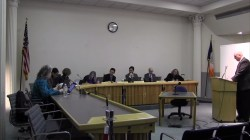 Philip Ramulla testifies before the Board of Standards and Appeals. Image credit: BSA
