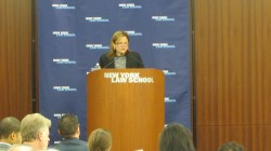 Melissa Mark-Viverito, Speaker of the New York City Council, addresses the 124th CityLaw Breakfast.  Image credit:  CityLand