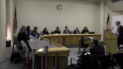 David Karnovsky argues before the Board of Standards and Appeals. Image credit: CityLand