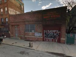 Vacant Landmarks warehouse at 337 Berry Street. Image credit: Google