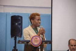 NYCHA Chair and CEO Shola Olatoye. Image credit: NYCHA