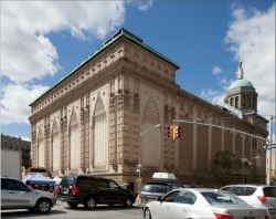 The Thomas-Lamb designed Loew's 175th Street Theater in Washington Heights was prioritized for designation. Image credit: LPC