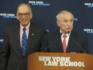 Former Commissioner William J. Bratton