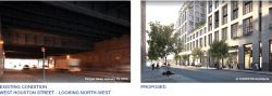 View of West Houston Now and Proposed. Image Credit: CookFox Architects