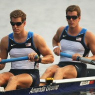 The Winklevoss twins and their arms.