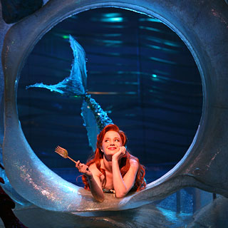 Sierra Boggess as Ariel. Image courtesy of http://nymag.com/images