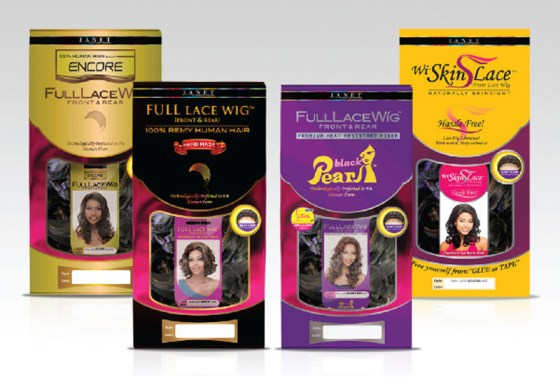 FULL LACE WIGS PACKAGE